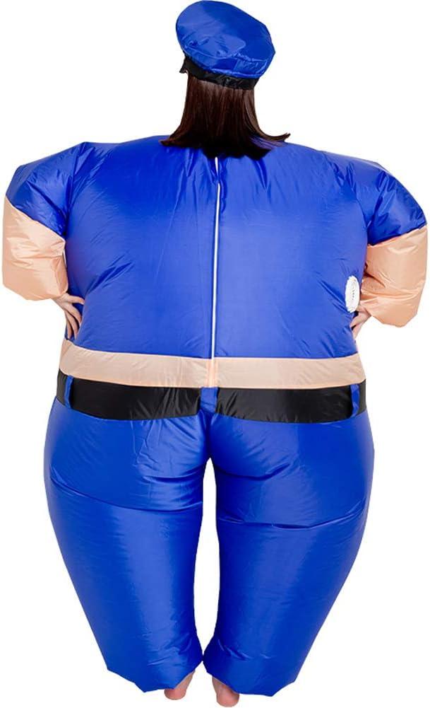 Amazon.com: Vantina - Disfraz inflable para adulto, uniforme ...