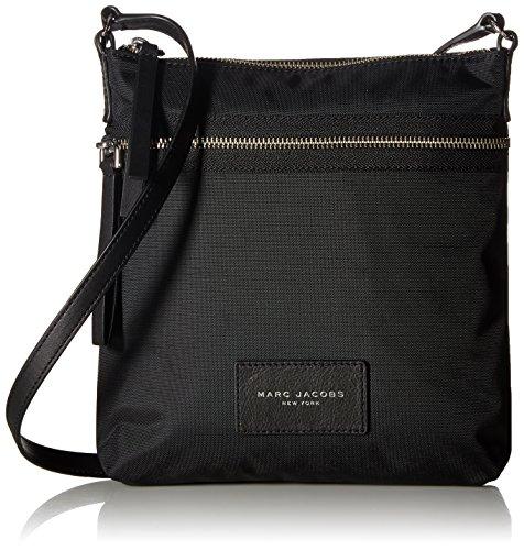 Marc Jacobs Nylon Biker North/South Crossbody, Black - Biker Handbags