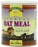 Hamlyn's Pinhead Oatmeal, 20-Ounce Tins (Pack of 6)