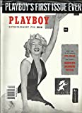 PLAYBOY'S MAGAZINE ENTERTAINMENT FOR MEN. FIRST ISSUE EVER FIRST TIME IN ONLY MAGAZINE, FULL COLOR THE FAMOUS MARILYN MONROE NUDE ISSUE, 2014 ( WARNING,NOT TO BE SOLD TO PERSONS UNDER 18 YEARS OF AGE. )
