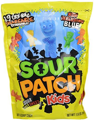Sour Patch Kids Candy, Original, 1.9-Pound Bag ()