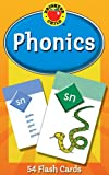 Carson Dellosa - Phonics Flash Cards - 54 Cards, Sight Words, Learn to Read for Preschool and Kindergarten Toddlers, Ages 4+ with Bonus Game Card (Brighter Child Flash Cards)