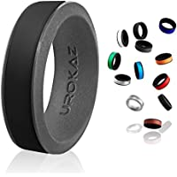UROKAZ - Silicone Fashion Rings, The Only Ring That Fits Your Lifestyles - Whether You are Single Married, Ring is Right You - It is Fashionable, Flexible Comfortable