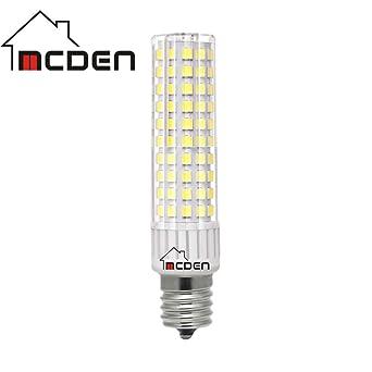 E17 - Bombilla LED (9 W, luz blanca diurna, 6000 K, CA 110 - 130 V ...