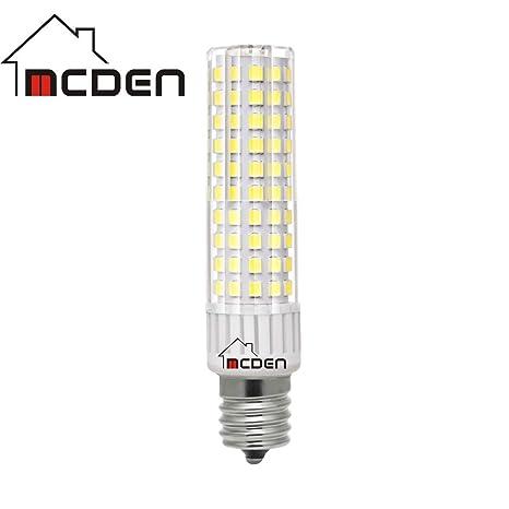 Amazon.com: Bombilla LED E17 9 W luz blanca 6000 K AC 110 ...