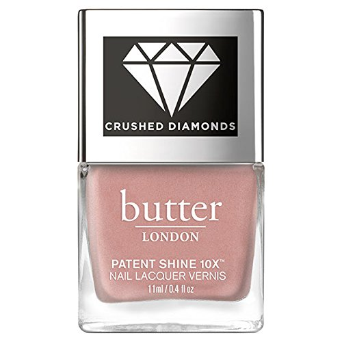 butter LONDON Patent Shine 10x Crushed Diamonds Nail Lacquer, Briliant, 0.4 oz. (Best Butter Nail Polish Colors)