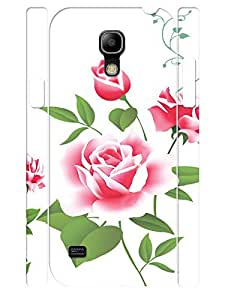 3D Print Girly Rose Durable Cell Phone Back Case for Samsung Galaxy S4 Mini I9195