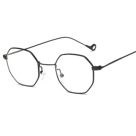 cb4207ec38e JAGENIE Classic Men Women Hexagon Square Sunglasses Metal Eyewear Fashion  Shades Outdoor BKT  Amazon.co.uk  Kitchen   Home