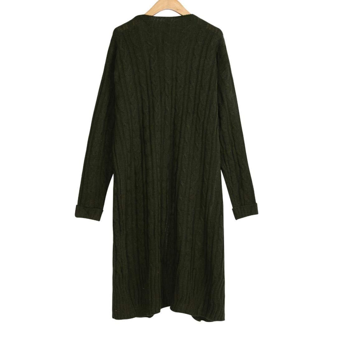 Pandaie Jacket,Women Bohemia Ladies Pockets Long Sleeve Knitting Cardigan Jacket Coat Outwear