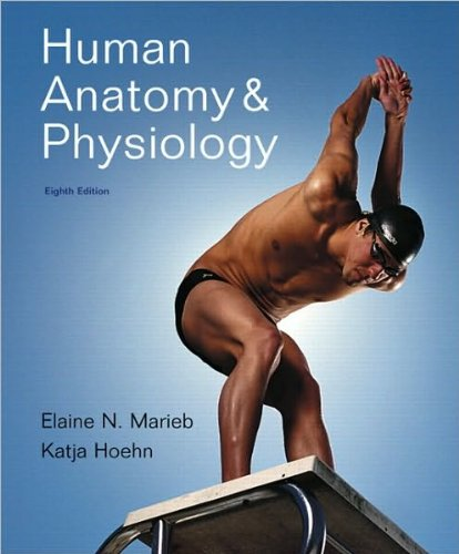 Human Anatomy & Physiology (text only) 8th (Eighth) edition by E.N. Marieb,K. N Hoehn (Human Anatomy And Physiology Marieb Hoehn 8th Edition)