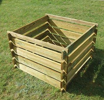 Apollo Komposter Aus Holz Amazon De Garten