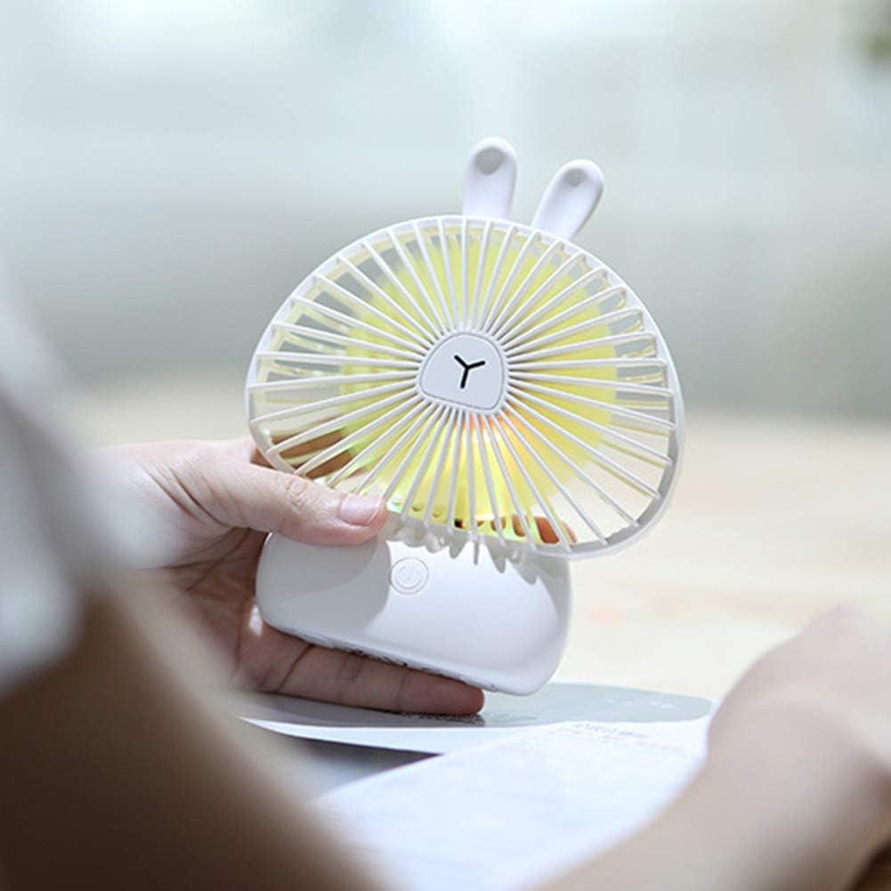 Mini Ventilatore Portatile con Luce LED zmigrapddn