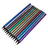 12PCS Metallic Coloured Drawing Pencil by Aroundstore