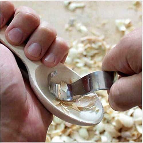kuska per intagliare cucchiai Zwini ideale per principianti e professionisti tazze 2 pezzi ciotole Set di utensili per intagliare il legno