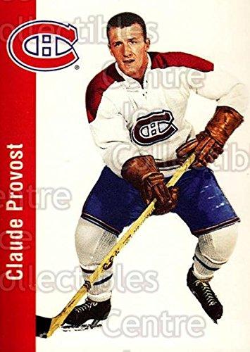 (CI) Claude Provost Hockey Card 1994 Parkhurst Missing Link 56-57 (base) 73 Claude (Parkhurst Hockey Card)