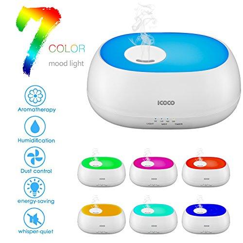 LESHP Ultrasonic Essential Diffuser Humidifier
