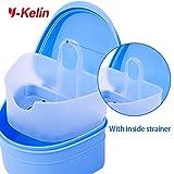 Y-Kelin Denture bath box and denture brush