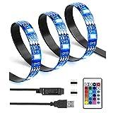Best Universal Lighting and Decor String Lights - LED Strip Lights 6.6ft 16 Color, LED TV Review
