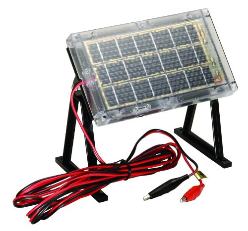 12 Volt Battery With Solar Charger - 4