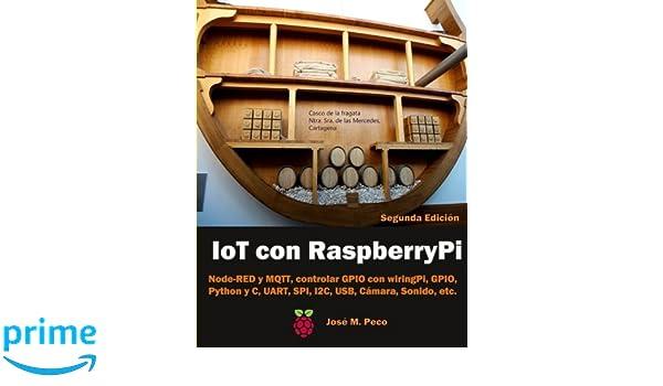 Amazing Amazon Com Iot Con Raspberry Pi Node Red Y Mqtt Control De Los Wiring Digital Resources Arguphilshebarightsorg