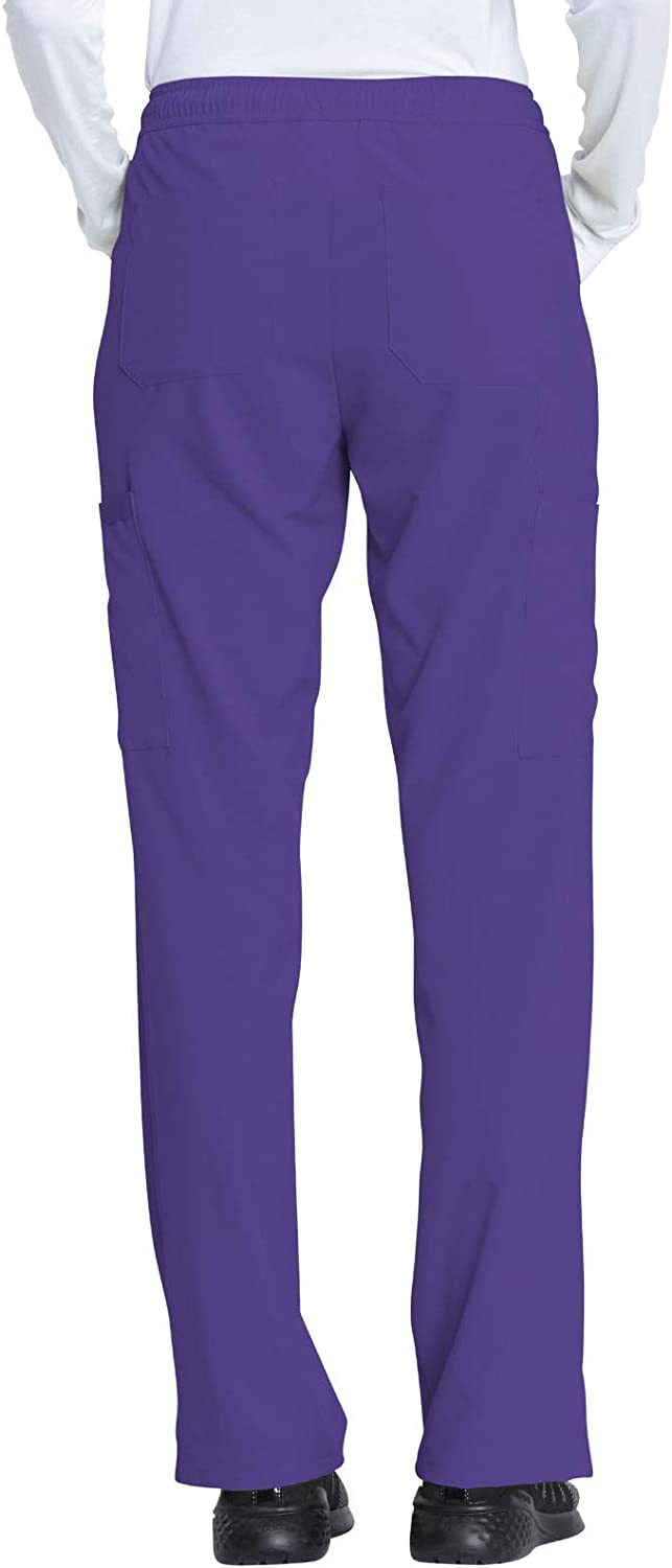 Dickies EDS Essentials Mid Rise Drawstring Scrub Trousers Grape