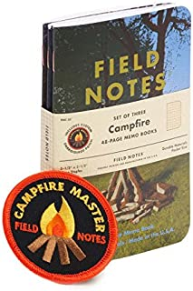 product image for Field Notes Campfire Special Edition Memo Books, 3-Pack (3.5x5.5-Inch) Summer 2017