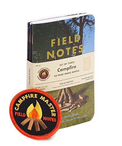 "Field Notes Campfire Special Edition Memo Books, 3-Pack (3-1/2"" × 5-1/2"") Summer 2017"