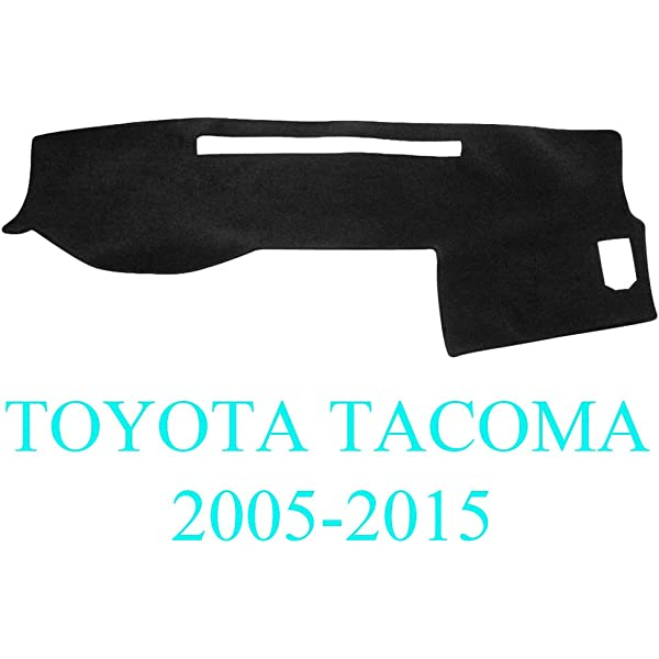Gray AKMOTOR Dash Cover Dashboard Cover Mat Pad for Toyota Tacoma 2005-2015 Y35