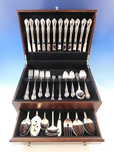 Kennett Square by Oneida Stainless Steel Flatware Service for 12 Set 83 - Stainless Square Kennett