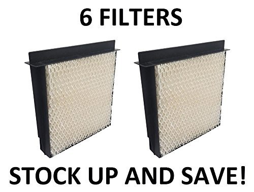 Heating, Cooling & Air Humidifier Filter for Bemis Essick Air 1040 Super Wick - 6 Pack by Air Conditioners