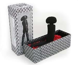 Edward Gorey Black Doll Plush Figure by Necessaries Toy Foundation