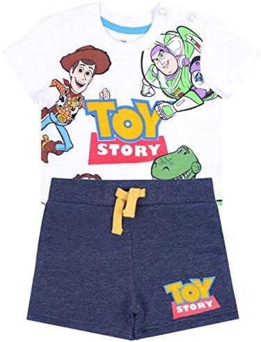 Camiseta Blanca + Pantalones Toy Story Disney 12-18 Meses ...