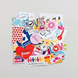 Bella Blvd No.1260 Illustrated Faith Basics Paper Pieces Cardstock Die-Cuts, Family, Multicolor