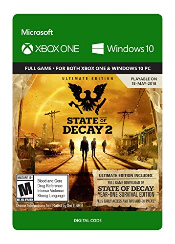 State of Decay 2: Ultimate Edition (Pre-Purchase/Launch Day) - Xbox One [Digital Code] by Microsoft