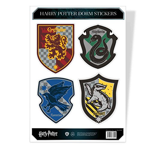 Harry Potter Sticker Sheet House Crest Hogwarts Official A4 Set (Crest Sticker)
