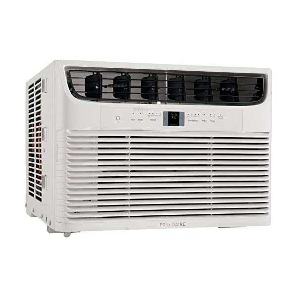 FRIGIDAIRE 12,000 BTU 115V Window-Mounted Compact Air Conditioner with Remote Control,...