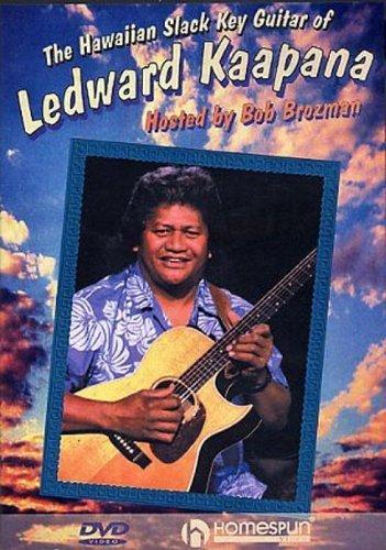 DVD-The Hawaiian Slack Key Guitar of Ledward Kaapana by Homespun Tapes