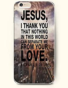 Case Cover For SamSung Galaxy S4 Hard Case **NEW** Case with the Design of Jesus, I thank you that nothing in this world can separate me from your love romans 8:35, 39 - Case for iPhone Case Cover For SamSung Galaxy S4 (2014) Verizon, AT&T Sprint, T-mobile