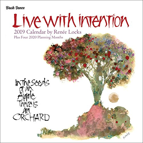 Live with Intention 2019 Wall Calendar