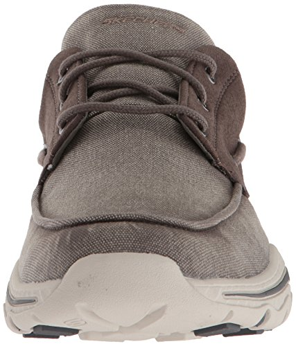 Skechers Men's Relaxed Fit-Creston-Vosen Boat Shoe Taupe great deals discount shopping online VymRz0f