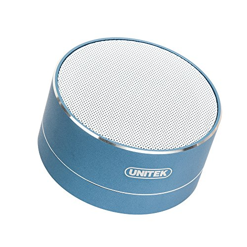 Wireless Bluetooth Speakers  Unitek 3W Stereo Bluetooth Speakers V4 0  Loud Stereo Sound  Build In Microphone For Iphone 7 Plus  Samsung S7 Edge  Blue Coral
