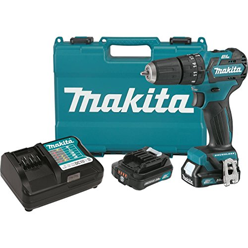 Makita PH05R1 12V MAX CXT Lithium-Ion Brushless Cordless Hammer Driver-Drill Kit, 3/8″ Review