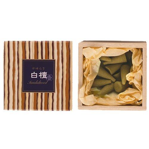 (nippon kodo Kayuragi - Sandalwood 12 Cones, Japanese Quality Incense)