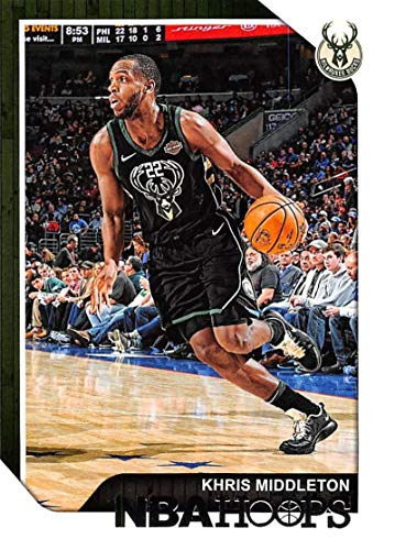 2018-19 Panini Hoops #14 Khris Middleton Milwaukee Bucks Basketball Card