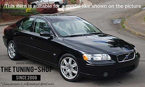 F/ür Volvo S60/2000 07/Gear /& Handbremsmanschette Leder grau