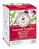 Traditional Medicinals Seasonal Herb Tea Sampler – 16 Tea Bags – Case of 6