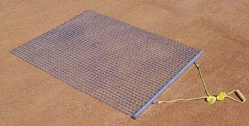 Trigon Sports Steel Drag Mat, 3 x 5-Feet by Trigon Sports