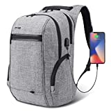Travel Laptop BackpackAnti-Theft School Bookbag with USB Charging PortDurable Business Daypack College Computer Bag Fit 17.3 inch Laptop &...