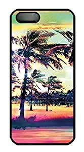 Betty S. Simmons's Shop 2015 1589785M33307822 iPhone 5 Case, Unique Custom Design Trees Scener Hard PC Black Case Cover for iPhone 5 5S