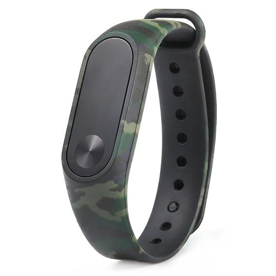 Nuevo patrón de camuflaje pulsera WristBand Pulsera de repuesto Xinan Para Xiaomi MI Band 2 2018